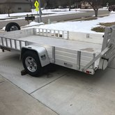 6.5x12ft utility trailer
