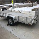 6.5x12ft utility trailer