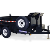 Sure trac dump trailer