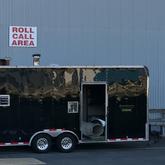 5000 cfm diesel fired desiccant trailer