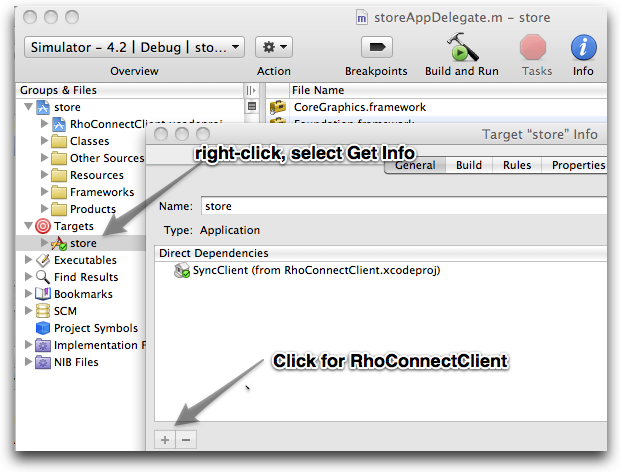 RhoConnectClient Direct Dependency