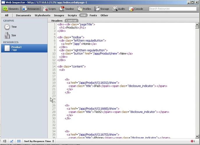 XML Requests