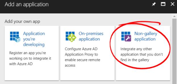 Azure Enterprise Applications Add Application Menu