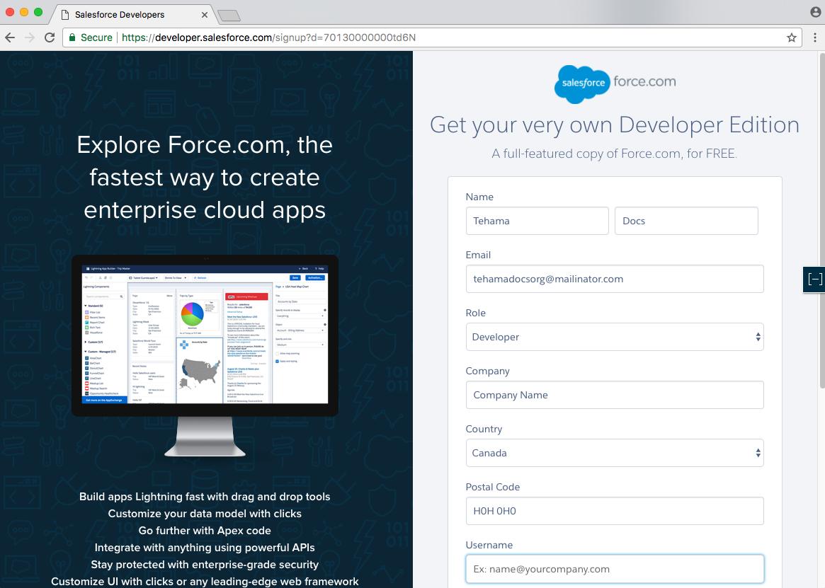 developer.salesforce.com/signup