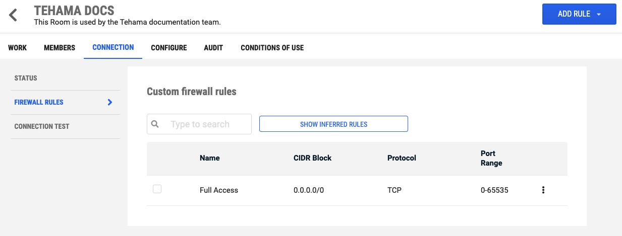 Firewall-rules-custom-client