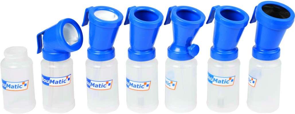 BouMatic teat dip cups