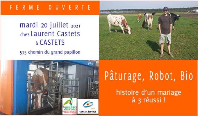 Ferme Ouverte chez Laurent Castets - EARL LA PALUE