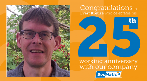 Congratulations to Evert Kreuze!
