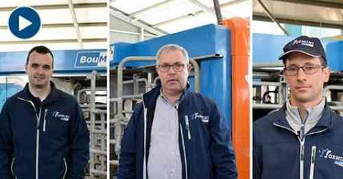 BouMatic installed for the first time its Gemini robot in a farm in Portugal - Vaca Pinta Magazine
