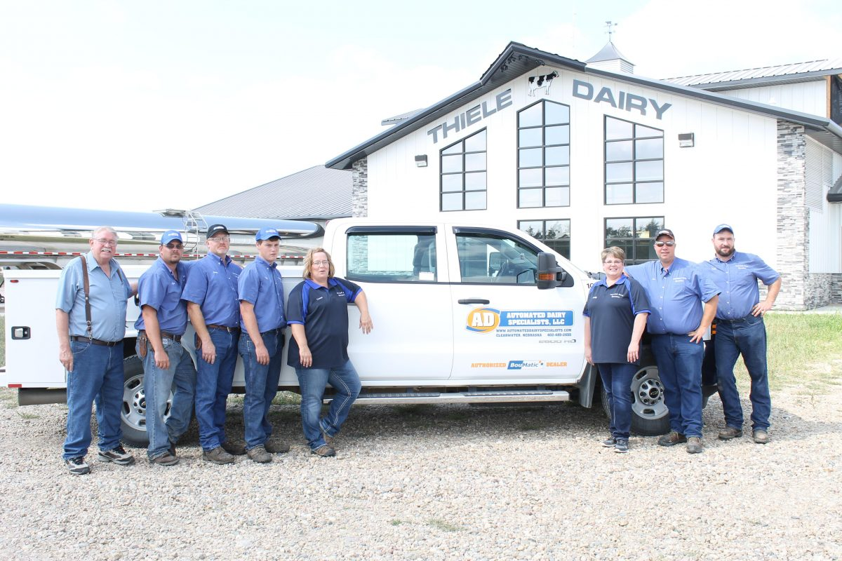The Automated Dairy Specialists Team