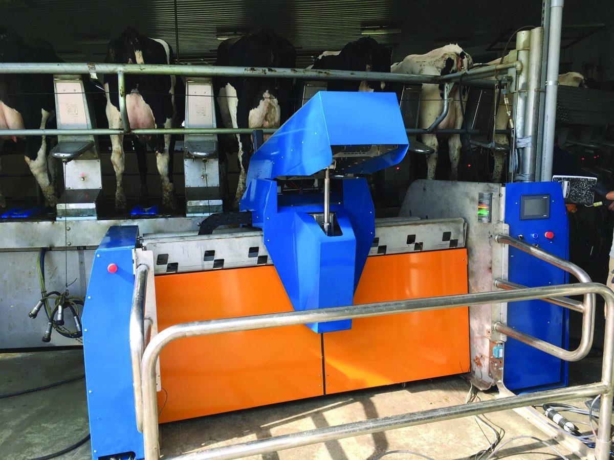 Robot de pulverización SR2