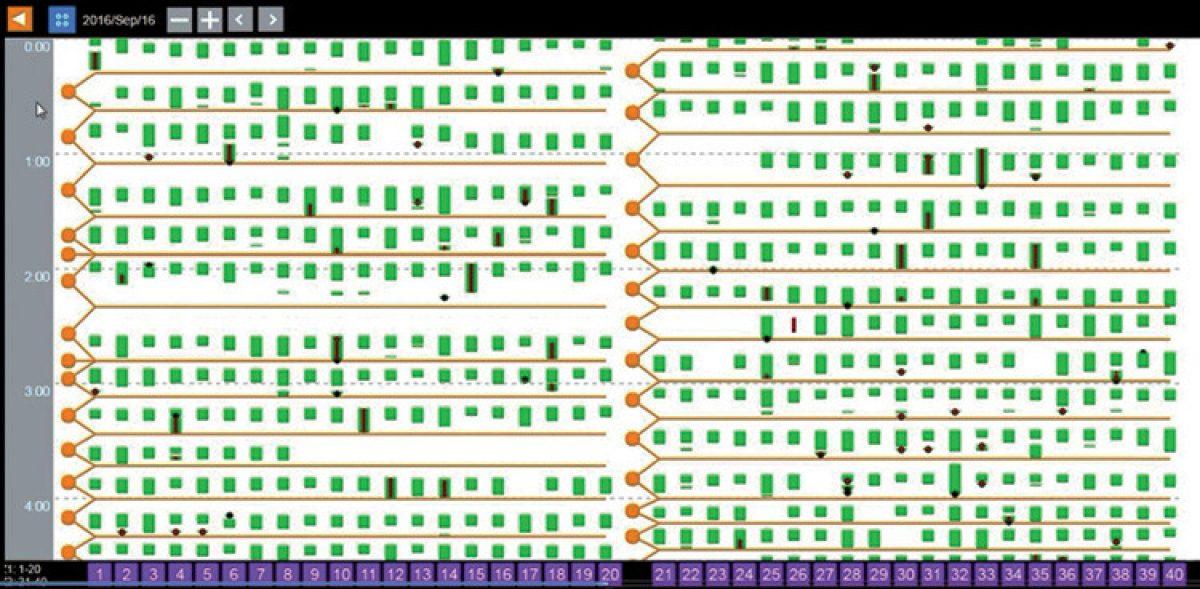 Date Data Screen View