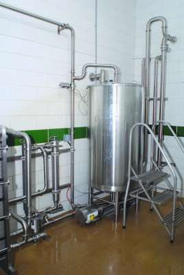 Vertical Wash Vat