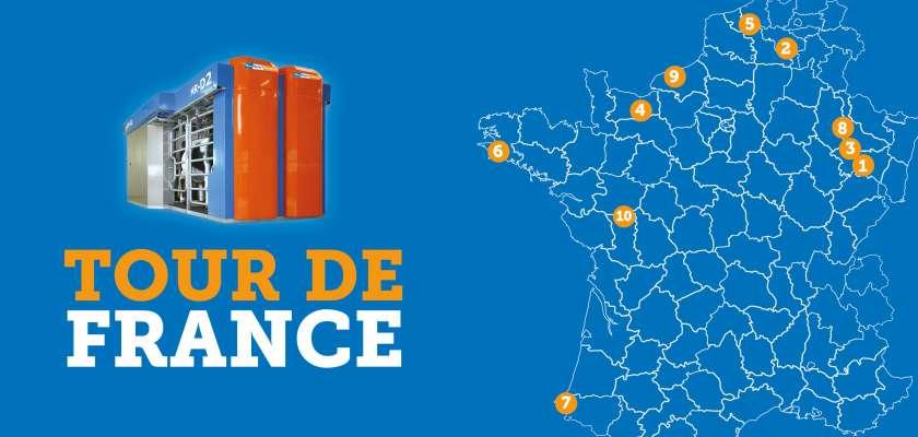 TOUR DE FRANCE - ROBOTS DE TRAITE