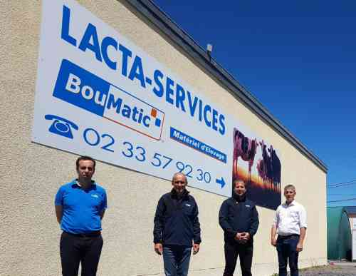 Reprise de Lacta-Services (Graignes) par Emmanuel Berard et Sébastien Brebion
