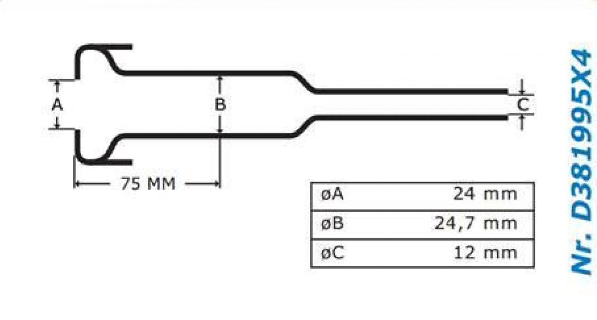 Gascoigne Melotte Liner 995: For straight end shells
