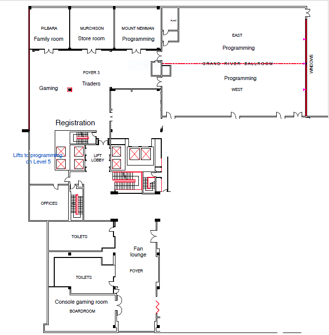 Main Function Floor Plan