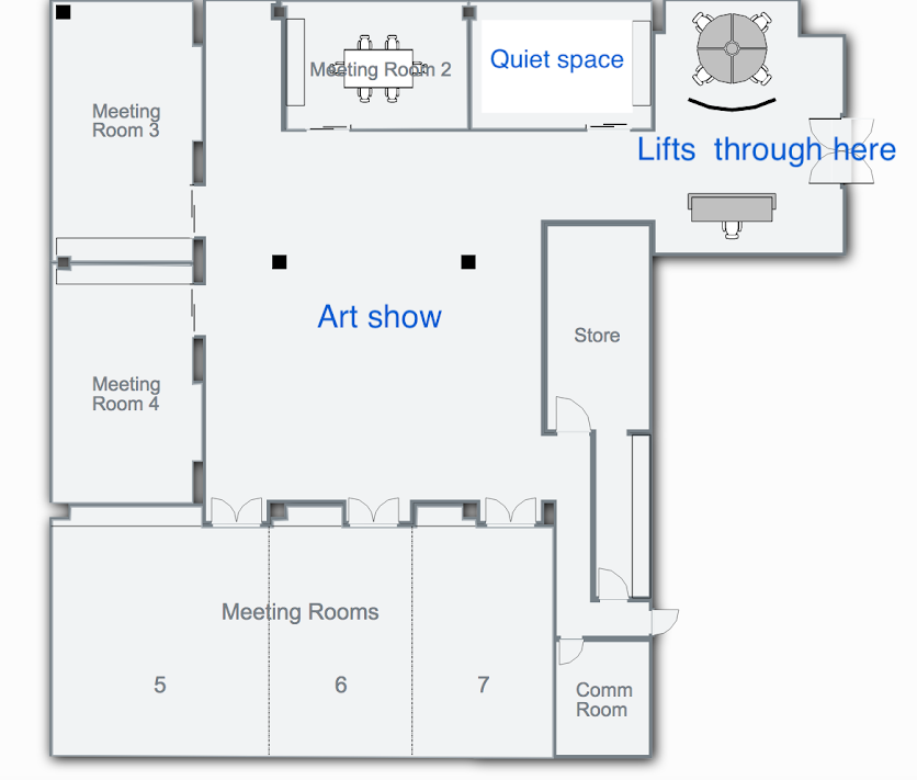 Meeting Rooms (Level 5) Plan