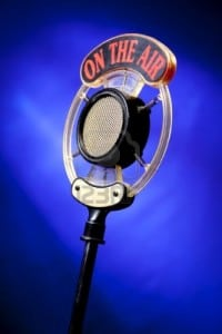 radio microphone for I-Witness