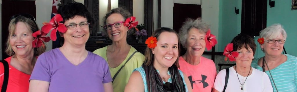 women of the Cuba mission