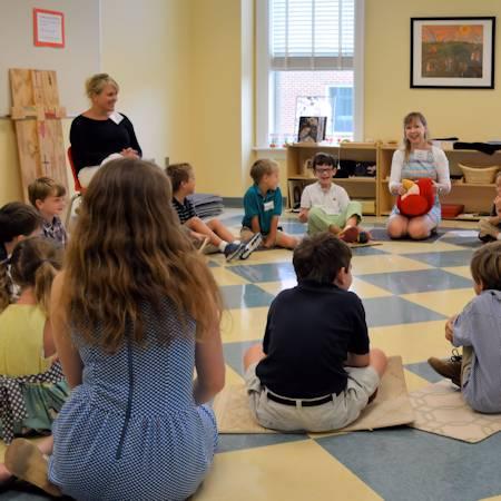 Children's Ministry class
