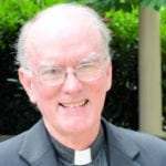 The reverend Thom Blair, interim rector