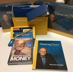 materials for students in Financial Peace University