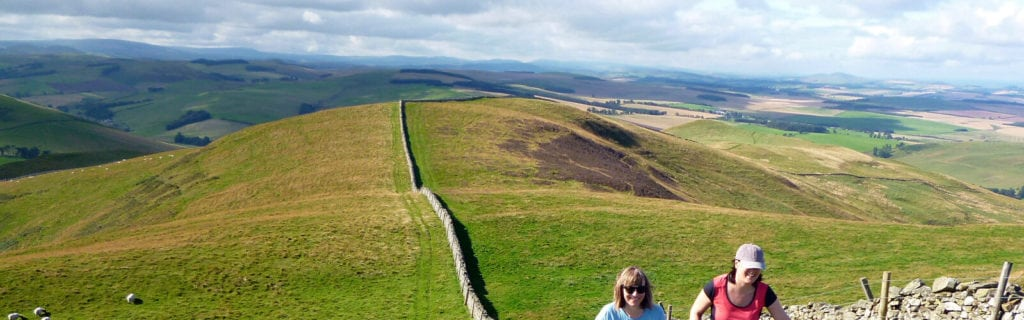 Hiking on St. Cuthbert's Way
