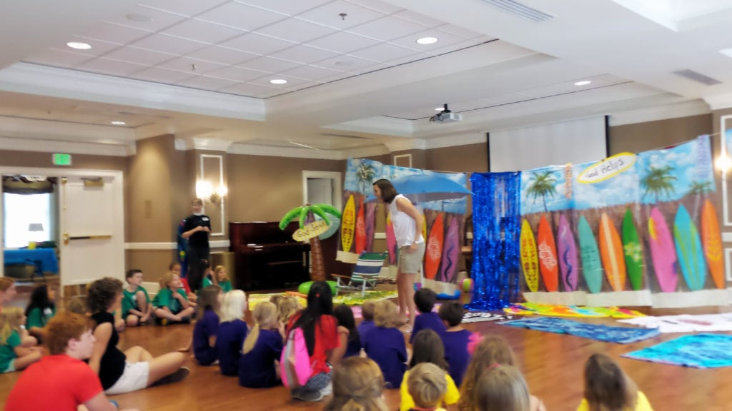 Valentine Hall and VBS