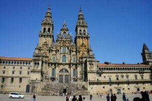 Cathedral of St. James in Campostella de Santiago