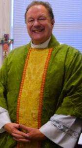 the Reverend Doctor John McCard robed
