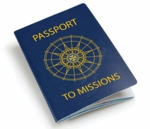 Passport to Missions graphic