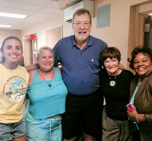 group at Virginia Supportive Housing