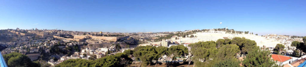 wide shot Jerusalem - E Angle