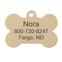 Hanging Dog ID Tags