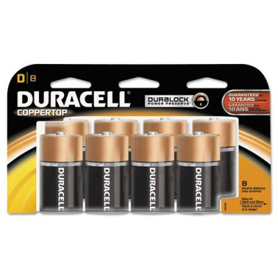 DURMN13RT8Z - Duracell Coppertop D Batteries