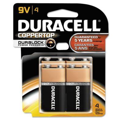 DURMN16RT4Z - Duracell Coppertop 9V Batteries