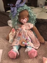 Waldorf and Cupcake doll 2018-08-02