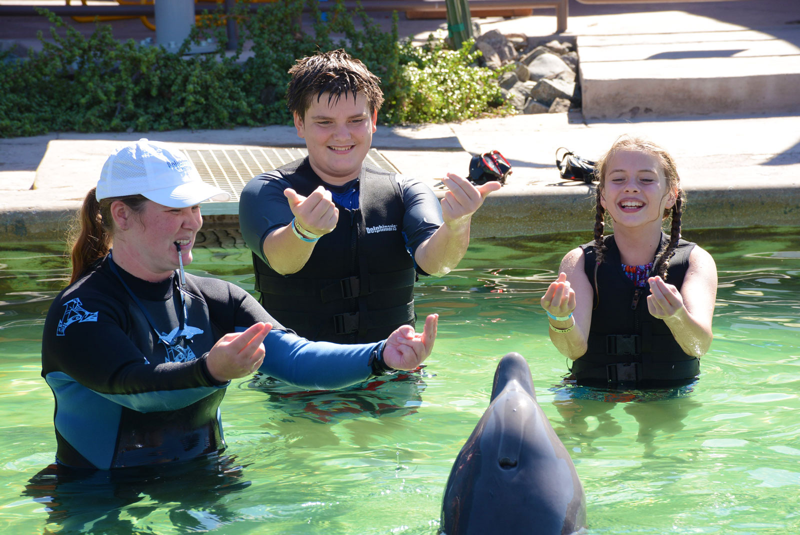 Dolphinaris BLU Crew Conservation Program in Arizona