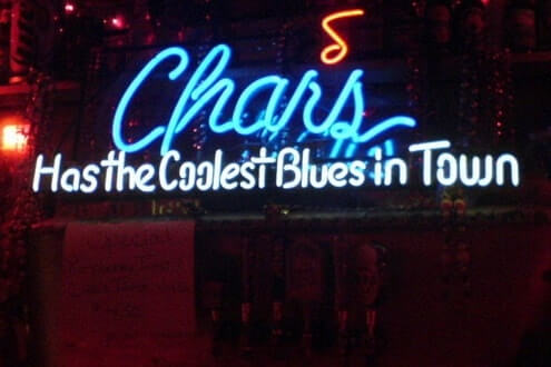 Chars has the blues - bar with live music in Phoenix