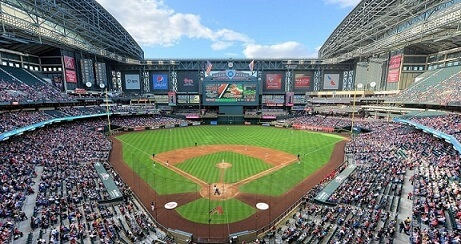 Chase Field - Phoenix - Baseball-Places to see in Phoenix