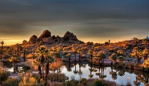 papago-park-sunrise-Free Things to do in Phoenix