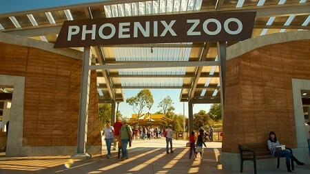 Phoenix-Zoo-Things to do in Phoenix for Families