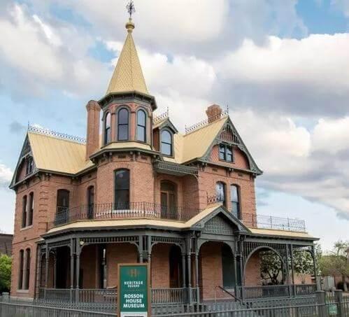 Rosson House-Landmarks in Phoenix