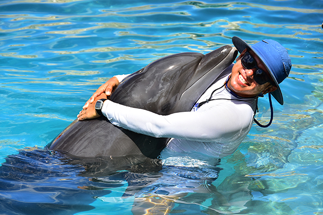 Dolphinaris Cancun staff