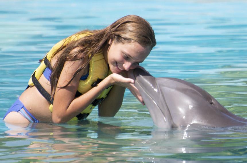 Ofertas de Buen Fin 2018 - Nada con delfines en Cancún y Riviera Maya