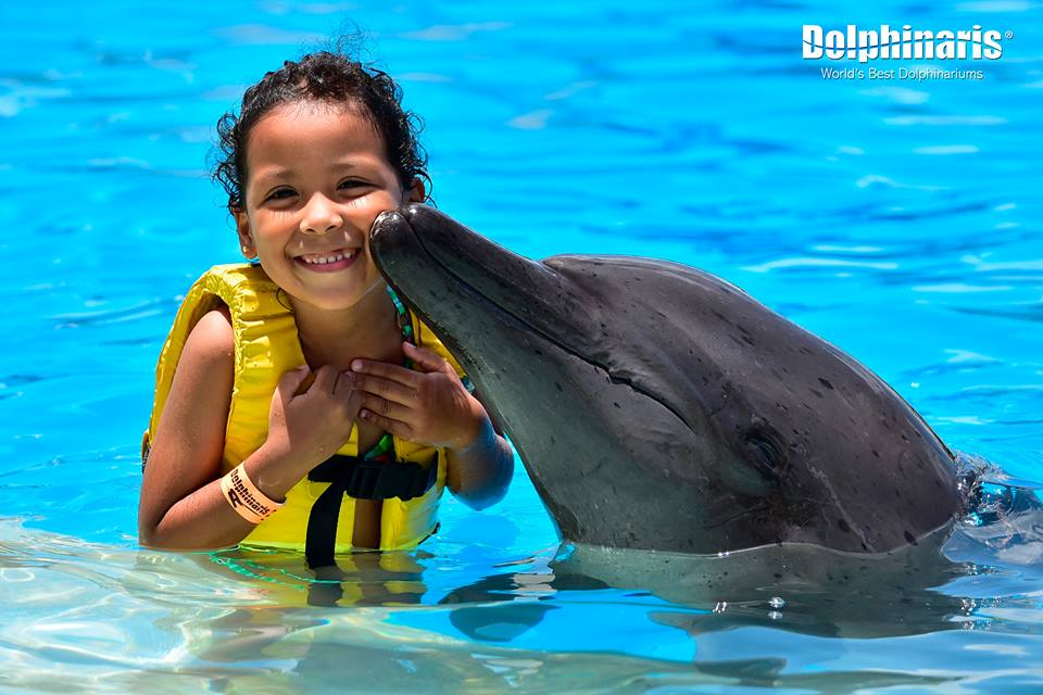 kid-love-dolphins-in-cozumel