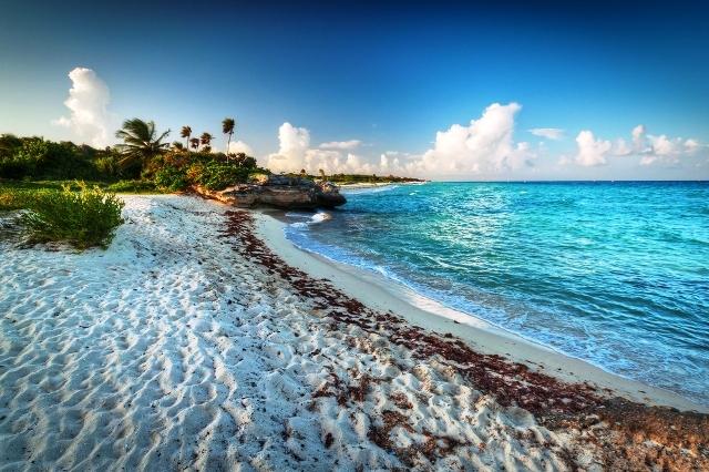 Las playas en la Riviera Maya