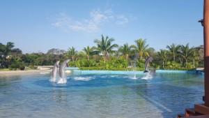 Lagunas en Dolphinaris Riviera Maya
