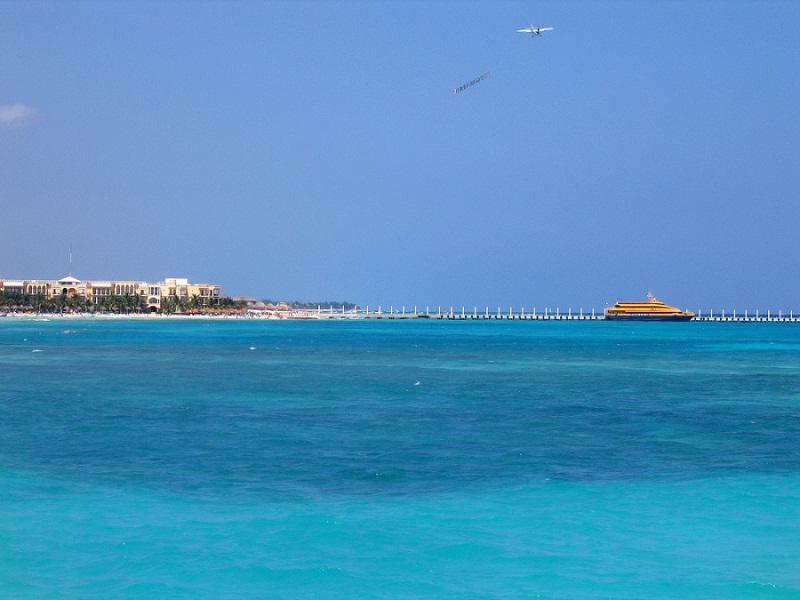 Playa del Carmen en la Riviera Maya.